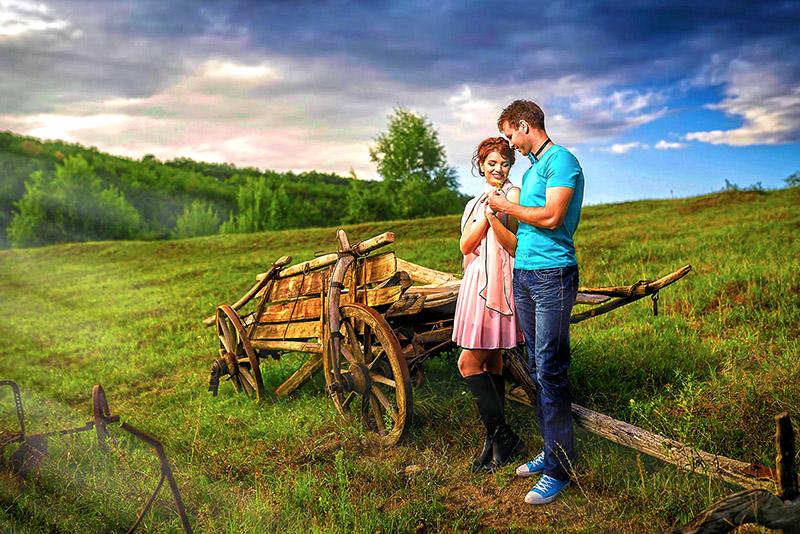 Eva si Mircea – Sedinta foto de logodna