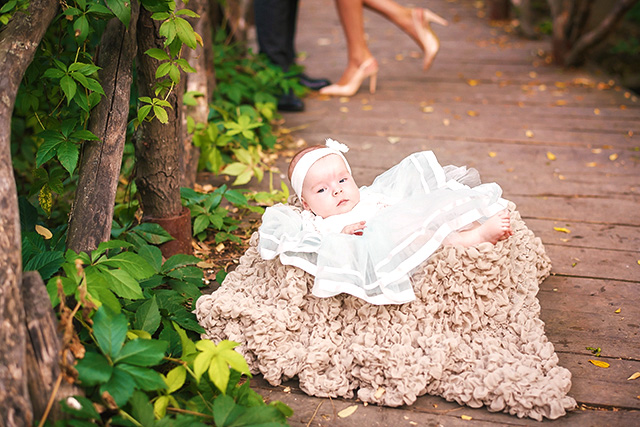 Eva Andreea – Fotografii Botez