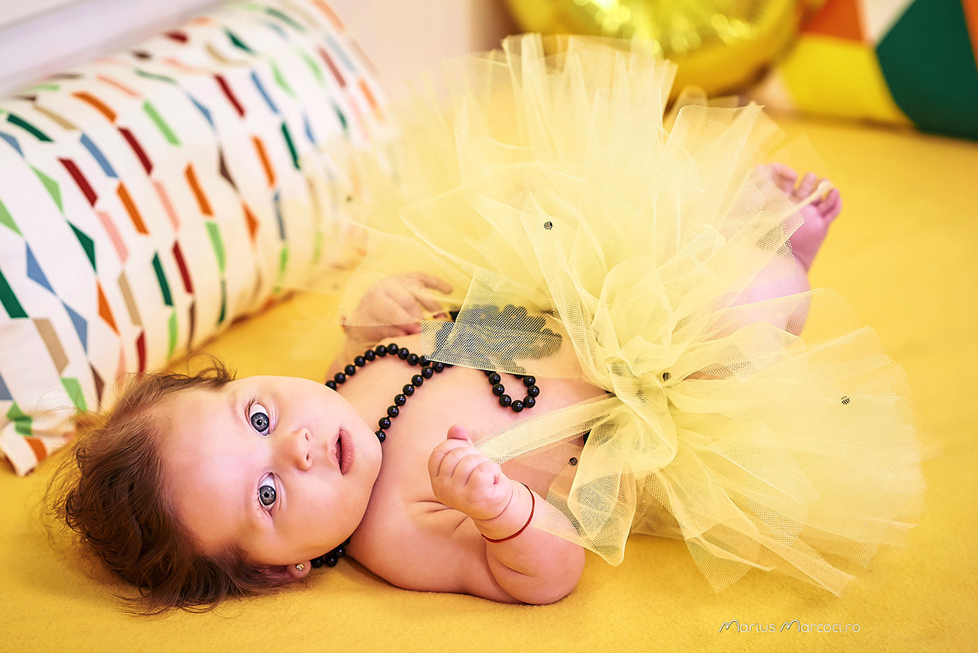 Nathalia Maria – Fotografii de botez