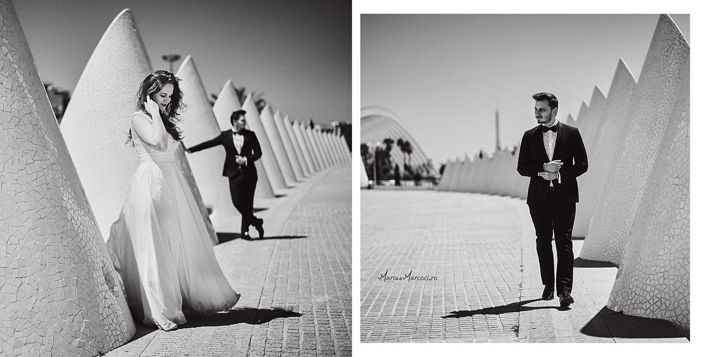 Fotografii dupa nunta Trash The Dress - Iulia si Radu